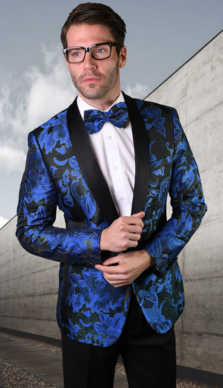 VJ-128-RO ( 1pc Single Jacket With Matching Bow Tie )
