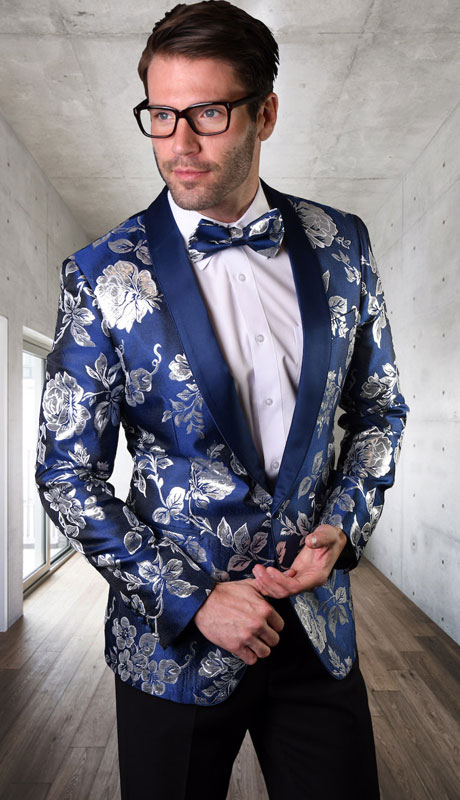 VJ-129-RW ( 1pc Single Jacket With Matching Bow Tie )