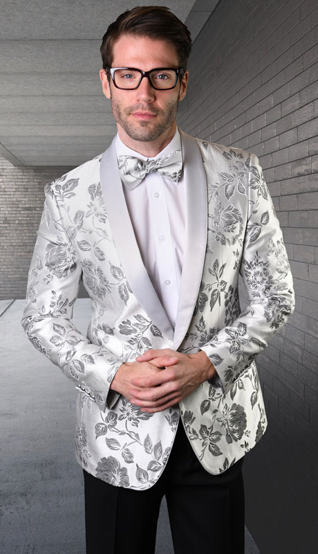 VJ-129-WS ( 1pc Single Jacket With Matching Bow Tie )