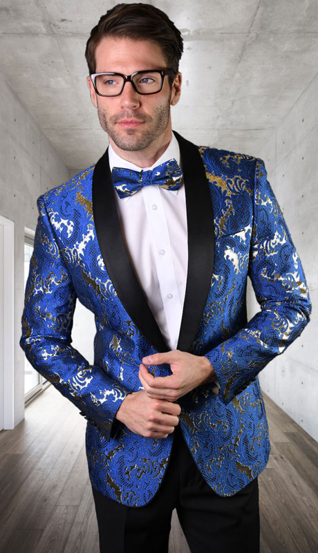 VJ-130-RS ( 1pc Single Jacket With Matching Bow Tie )
