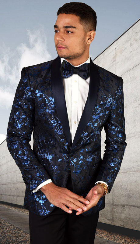 PJ-205-NA ( 1pc Single Jacket With Matching Bow Tie )