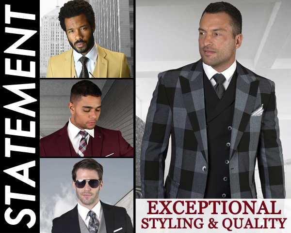 Statement Mens Suits, Jackets, And Tuxedos 2021