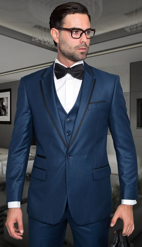 VENETIAN-IN ( 3pc Tailor Fit Tuxedo With Flat Pants )
