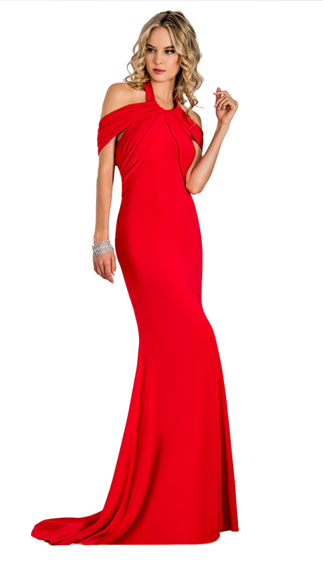 Stella Couture By Serendipity 18165 ( 1Pc Draped Off The Shoulder For Special Occasion )