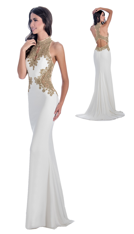 Stella Couture By Serendipity 18176 ( 1Pc Evening Gown With Beaded Embellishments For Prom )