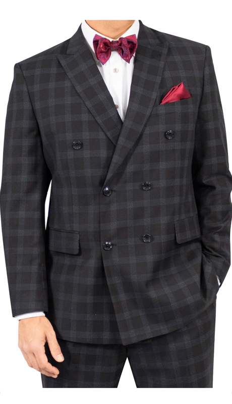 Steve Harvey 118722-BP ( 3pc Suit, Super 140's )