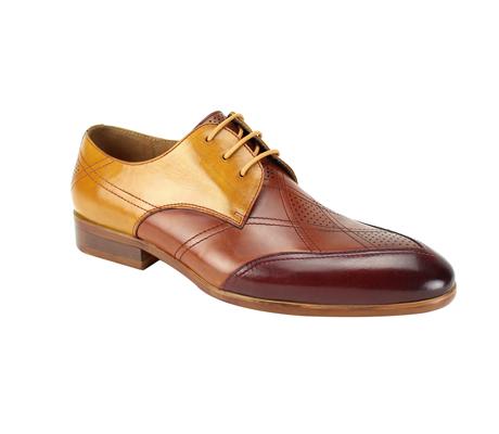 SL0040-BT ( Tri Tone Handmade Genuine Leather Shoe )