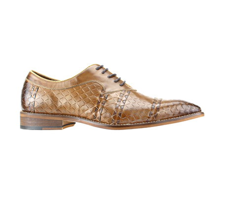 SL0022-Tan ( Genuine Handmade Leather With An Elegant Accent Weave )