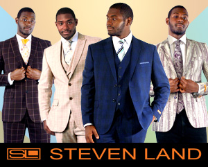 Mens Suits By Steven Land