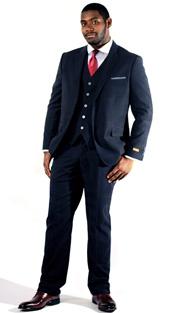 Steven Land Mens Suits Carlo-SL77-434 ( 3 Piece Tonal Plaid, 2 Button, 2 Flap Pocket, Trimmed Welt Pocket, Double Vent, Notch Lapel, With Vest And Flat-Front Pant, Shoes SL0005-BURG )