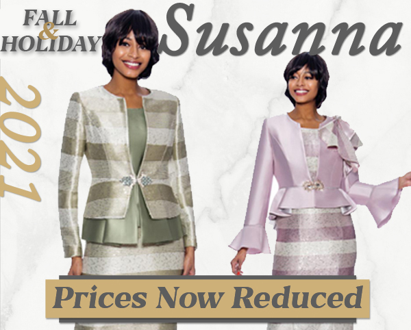 Womens Susanna Special Occasion Church Suits Fall And Holiday 2020