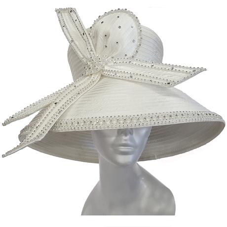 Swan Hats SW9043-White