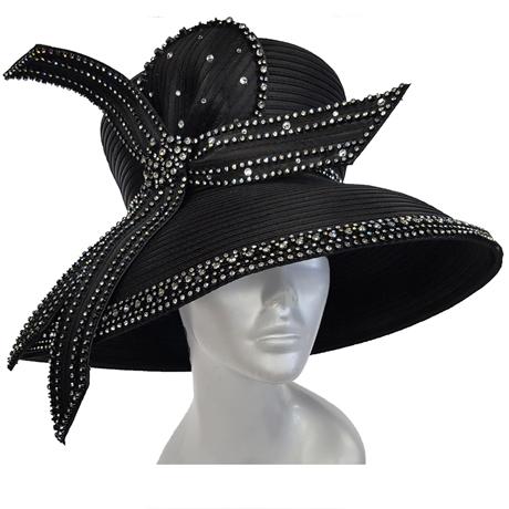Swan Hats SW9043-Black