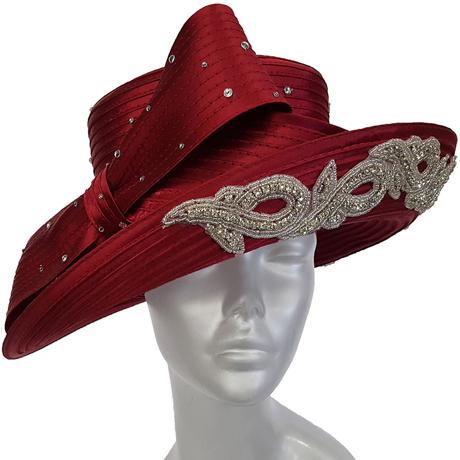 Swan Hats SW9041-Burgundy