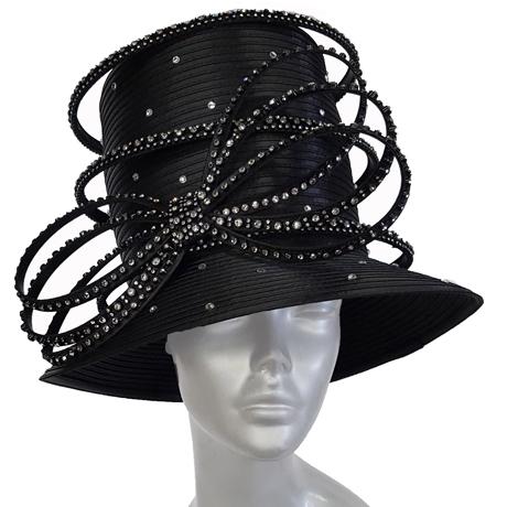 Swan Hats SW9040-Black