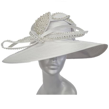 Swan Hats SW9039-White