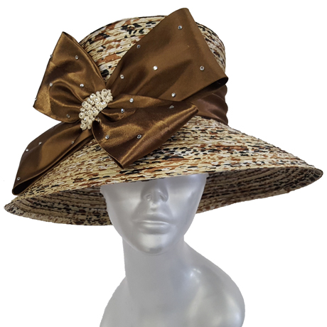 Swan Hats SW9037-Ivy With Brown