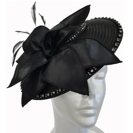 Swan Hats SW9034-Black