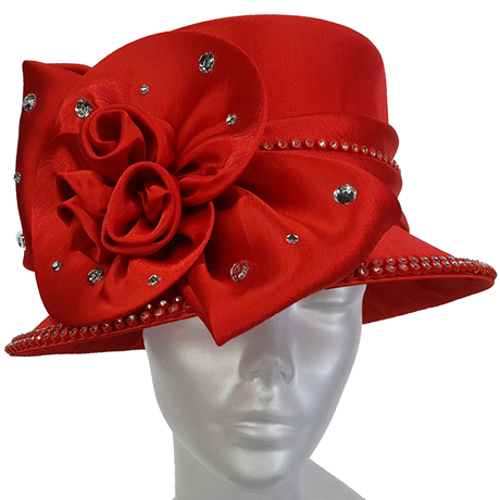 Swan Hats SW9024-Red