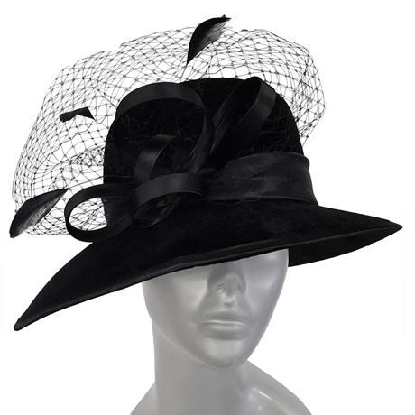 Swan Hats SW9015-Black