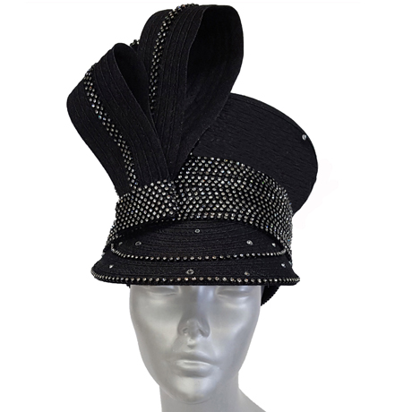 Swan Hats SW9048-Black
