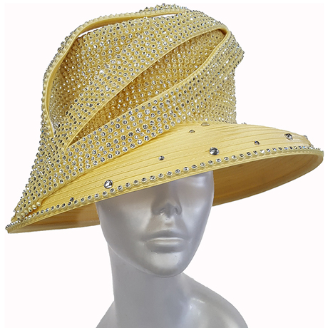 Swan Hats H2860-Yellow