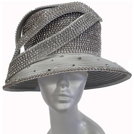 Swan Hats H2860-Silver