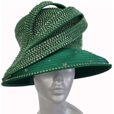 Swan Hats H2860-Emerald