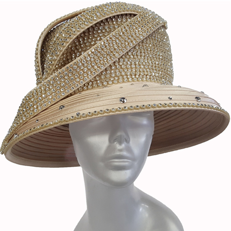Swan Hats H2860-Champagne