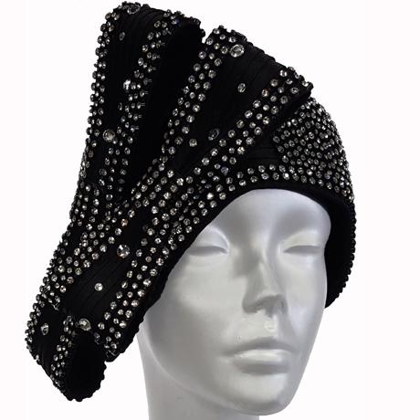Swan Hats H2838-Black