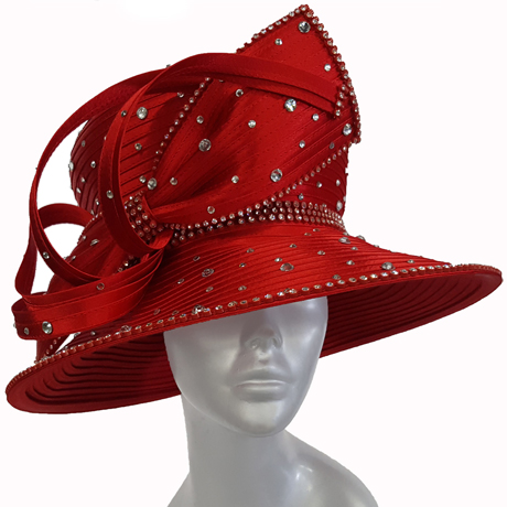 Swan Hats H2673-Red