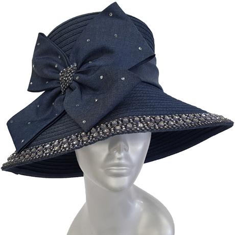 Swan Hats SW9049-Blue