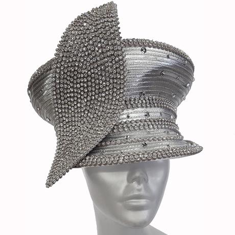 Swan Hats H2655-Silver