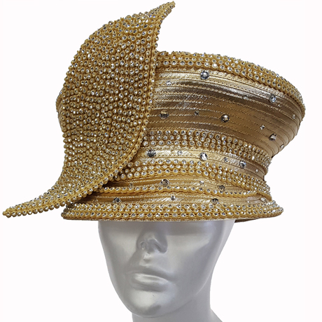 Swan Hats H2655-Gold