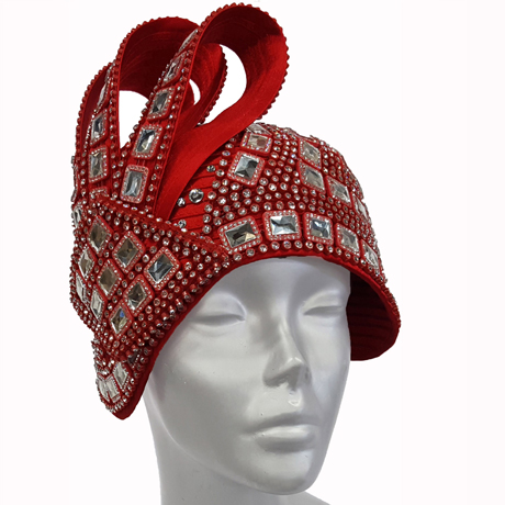 Swan Hats H2645-Red