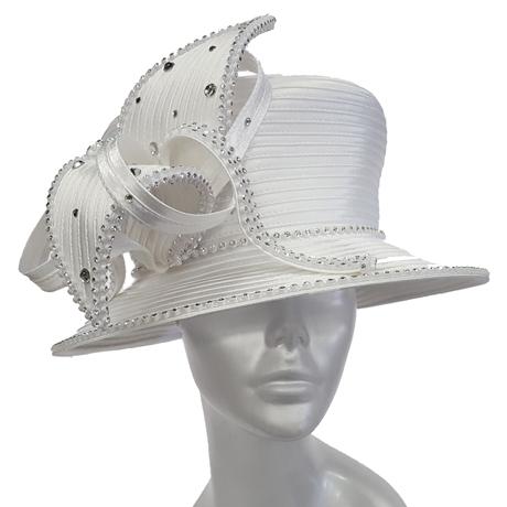 Swan Hats H0022-White
