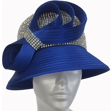 Swan Hats 6676-Royal