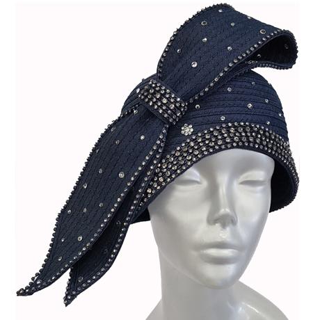 Swan Hats SW9047-Blue