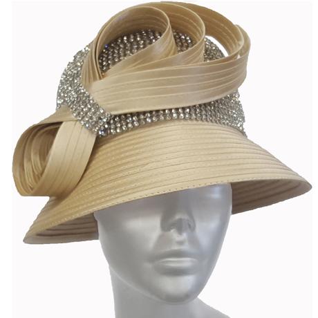 Swan Hats 6676-Champagne