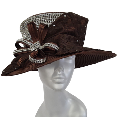 Swan Hats 6668-Brown