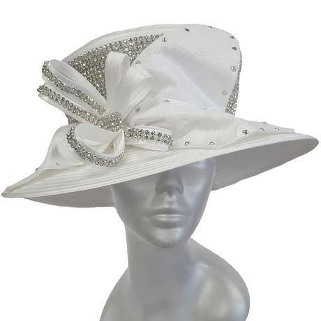 Swan Hats 6668-White
