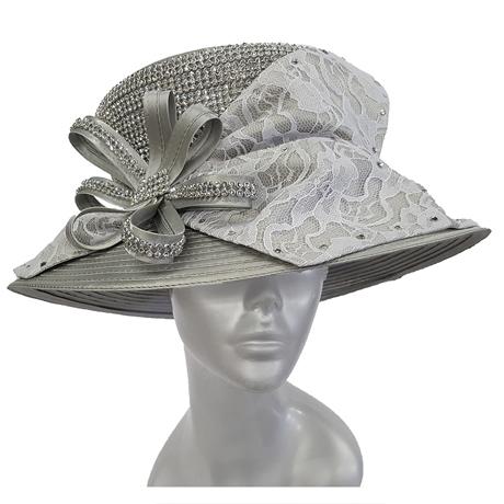 Swan Hats 6668-Silver