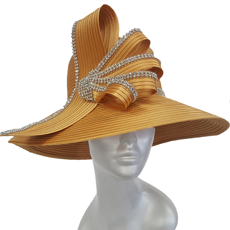 Swan Hats 5490-Yellow