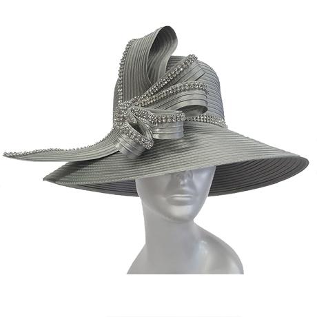 Swan Hats 5490-Silver