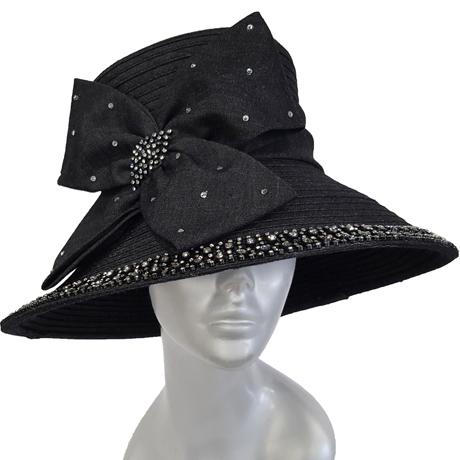 Swan Hats SW9049-Black