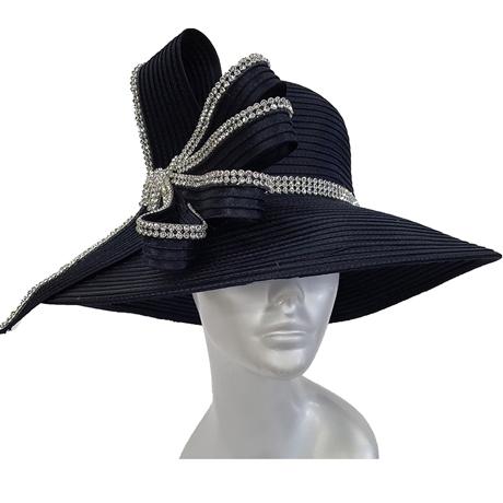 Swan Hats 5490-Navy