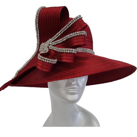 Swan Hats 5490-Burgundy