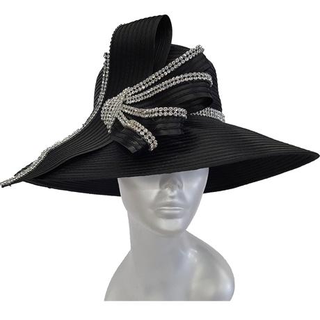 Swan Hats 5490-Black
