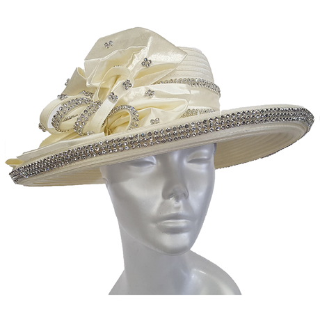 Swan Hats 2176-Ivory