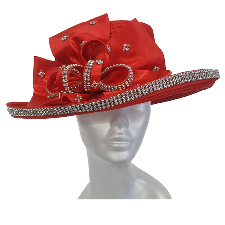 Swan Hats 2176-Red